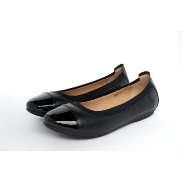 1208-1 Barani Leather Pumps/Ballet Flats