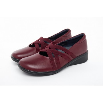 1720 Barani Leather Pumps (with Elastic Straps)