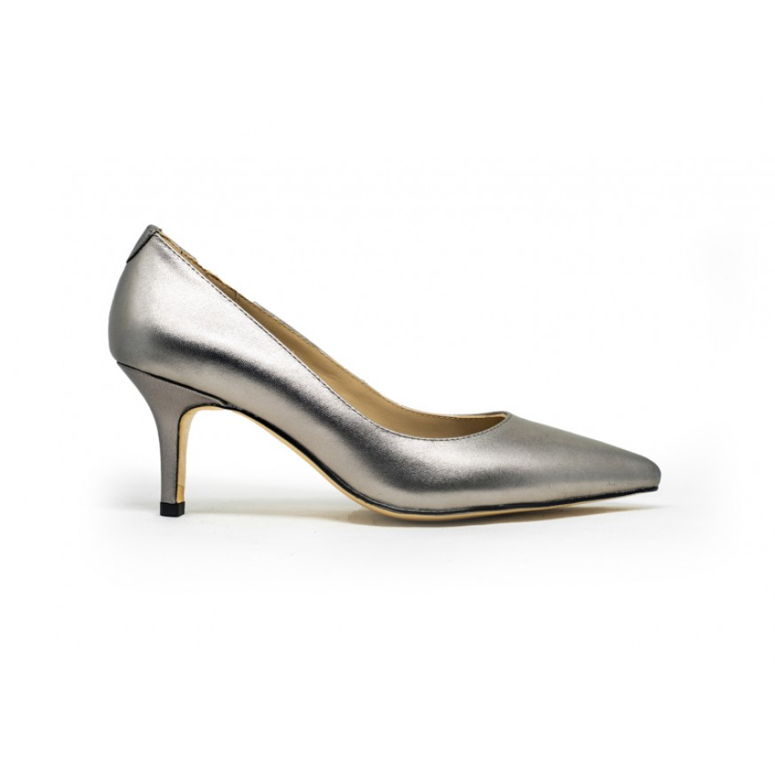 2501 Caratti Classic Leather Heels (Mid)