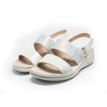 2802 Barani Leather Sandals (Slingback)
