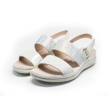 2802 Barani Leather Sandals (Slingback)