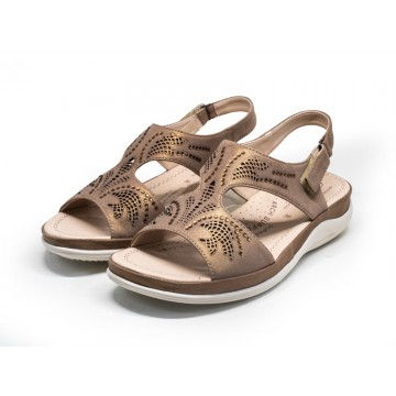 2809 Barani Leather Sandals (Slingback)