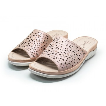 2815 Barani Leather Sandals (Slip-On)