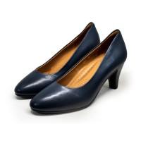 3091 Caratti Classic Leather Heels (Mid)