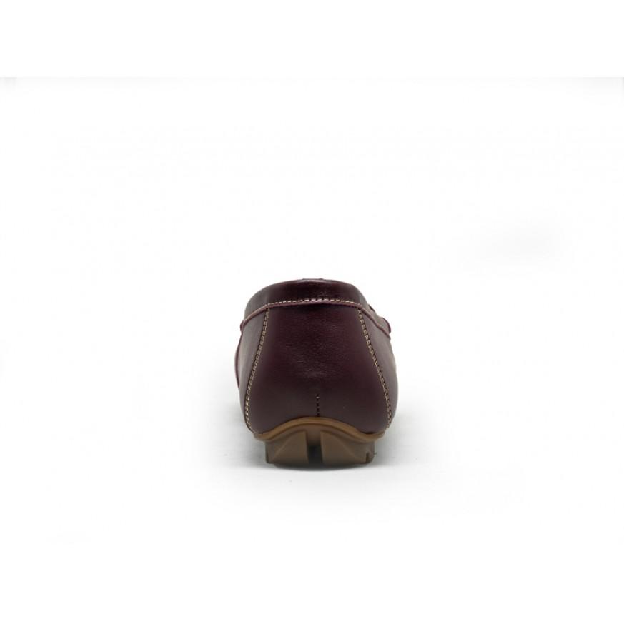 3688L Apache Ladies Leather Moccasins/Slip Ons