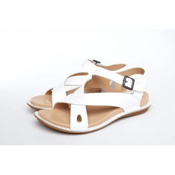 5011 Barani Leather Sandals (Cross Strap)