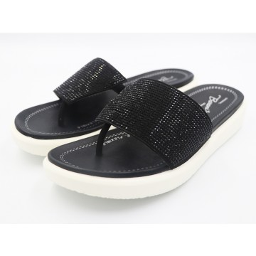 50235 Barani Leather Thong Sandals (Slip-On)