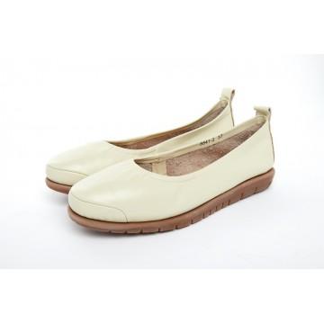 8841-2 Barani Leather Pumps/Ballet Flats