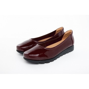 8938-205 Barani Patent Leather Pumps/Ballet Flats