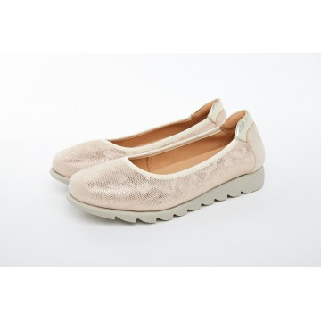 8938-220 Barani Leather Pumps/Ballet Flats (Textured Leather)