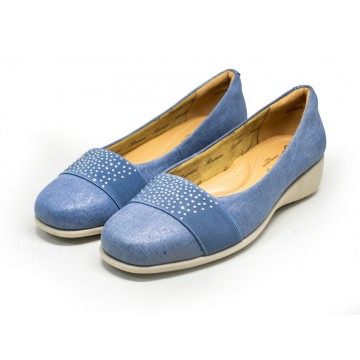 8948-126 Barani Leather Pumps (with Micro Wedge)
