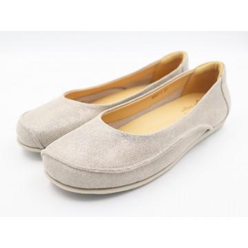 8957-1 Barani Leather Pumps/Ballet Flats