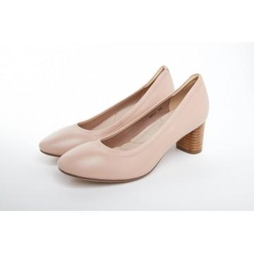 9031 Caratti Classic Leather Heels (Mid)